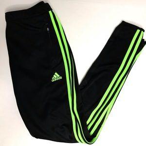 🚨20% off 🚨 neon green Adidas pants.